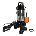 Pompa apa submersibila WQD1500DF DETOOLZ, 1500W, cu tocator, apa curata/murdara