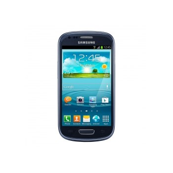 "Telefon Mobil Samsung Galaxy S III Mini i8190, Dual Core 1GHz, Android 4.1 Jelly Bean, Super AMOLED capacitive touchscreen 4"", 8GB, Wi-Fi, 3G (Albastru metalic)"