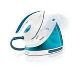 Statie de calcat PHILIPS PerfectCare Viva GC7035/20, SteamGlide Plus, 210g/min, 2400W, alb - albastru