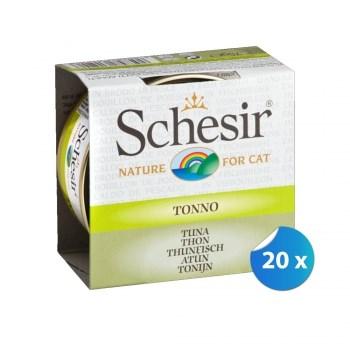 Pachet Schesir Cat Ton in Supa 20 x 70 g