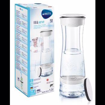 Carafa filtranta Brita Fill and Serve 1.3L Transparent BR1020115