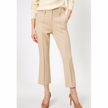 Pantaloni crop bootcut