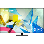 "Televizor LED Samsung QLED TV 75"" Smart, 4K Ultra HD, QLED ARGINTIU"