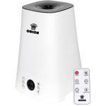 Umidificator de aer ultrasonic Orion OUH-19, capacitate 5L, temporizator cu ionizare, telecomanda, alb