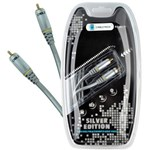 CABLETECH CABLU 1RCA-1RCA 0.5M COAXIAL SILVER EDITION C