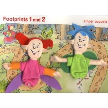 Footprints 1 Finger Puppet