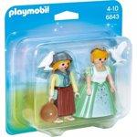 Playmobil - Set 2 figurine Printesa si Slujnica