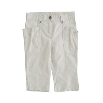 Pantaloni crem din bumbac pentru copii