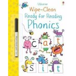 Wipe-Clean Ready for Reading Phonics, Hardcover