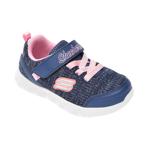 Pantofi sport SKECHERS bleumarin, Comfy Flex, din material textil