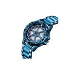 Ceas de dama Sanda, cadran in forma de inimioare rotative 360 grade, mecanism japonez seiko