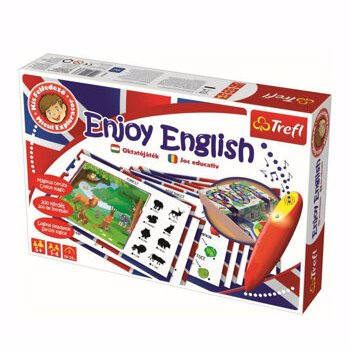 Joc educativ trefl invata engleza cu jocul cu stilou electronic