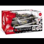 Masinuta Mondo Motors RC, Black Monster 1:12