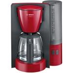 Cafetiera BOSCH ComfortLine TKA6A044, 1.25l, 1200W, rosu-antracit