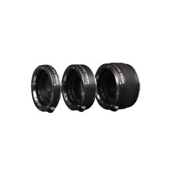 Kooka KK-C68 set tuburi extensie (inele macro - 12mm, 20mm, 36mm) pentru Canon