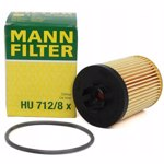 Filtru ulei MANN Hu712/8X