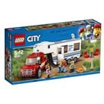LEGO® City Great Vehicles Camioneta si rulota 60182