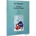Studii elementare pentru pian Opus 176 - Duvernoy 978-973-9054-52-2