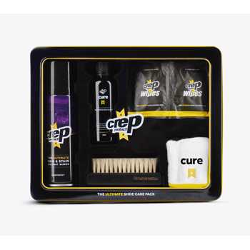 Crep Protect The Ultimate Sneaker Care Pack Black