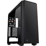 Carcasa Thermaltake Versa C23 Tempered Glass RGB Edition, Negru