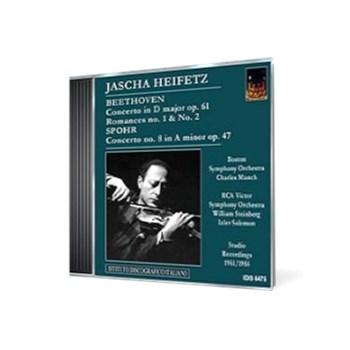 Jascha Heifetz plays Beethoven and Spohr