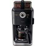 Cafetiera Philips Grind Brew HD776900 Recipient Dublu Afisaj LCD Rasnita integrata Negru hd7769/00
