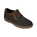 Pantofi OTTER negri, T4, din nabuc