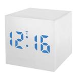 Statie meteo Bresser MyTime WAC RC, termometru, alarma, LED albastru, Alb