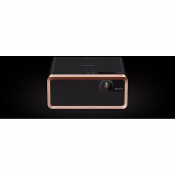 Videoproiector Epson EF-100B, Home Cinema, Laser, 3LCD, HD ready, HDMI, Negru