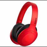 Casti Sony WH-H910NR Noise Canceling Quick attention Hi-Res Wireless Bluetooth NFC LDAC Autonomie de 35 ore Rosu WHH910NR.CE7