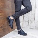 Pantofi Piele Yaki bleumarini