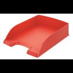Tavita documente, rosu deschis, LEITZ Plus Standard