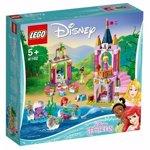 LEGO® Disney Princess™ - Festivitatile regale ale lui Ariel, Aurora si Tiana 41162
