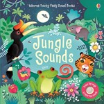 "Carte muzicala ""Jungle sounds"", 3 ani+, Usborne"