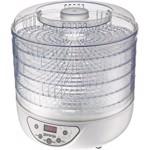 Deshidrator de alimente Gorenje FDK24DW, 240 W, LED, Temperatura ajustabila, Timer, Alb