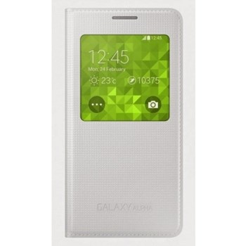 Galaxy Alpha G850 S-View Cover White EF-CG850BWEGWW