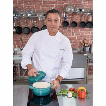 Cratita fonta emailata 20x9.2 cm 2.2 L Taste of Home by Chef Sorin Bontea hr-yt-kan20