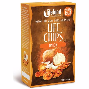 Life Chips din Ceapa Raw Eco 40 grame