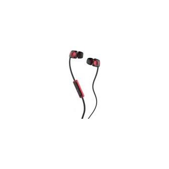 Casti SKULLCANDY Smokin Buds 2 S2PGFY-010, Cu Fir, In-Ear, Microfon, negru-rosu