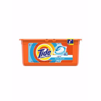 Detergent capsule TIDE 3in1 PODS TOUCH OF LENOR 26 spalari