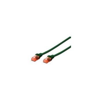 Cablu UTP Digitus Premium Patchcord Cat 6 0.5m Verde