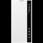 Husa de Protectie Samsung Galaxy Note 10 Plus Clear View Alb ef-zn975cwegww