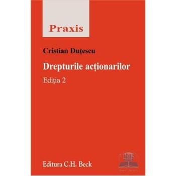 Drepturile actionarilor ed. 3 - Cristian Dutescu