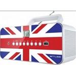 Radio CD portabil MUSE M-28 UK, FM, USB, alb