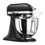 Mixer cu bol KitchenAid Artisan Elegance 5KSM175PSEBK, 300 W, 4.8 l, 10 viteze, Negru