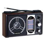 Radio portabil Leotec LT-2008, 11 benzi, model retro