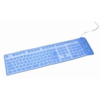 Tastatura Flexibila Gembird KB-109FEL1-BL-US kb-109fel1-bl-us