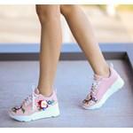Pantofi Casual Gedi Roz
