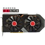 Placa video XFX AMD Radeon RX 590 FATBOY OC+ 8GB GDDR5 256bit