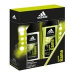 Set barbati adidas Pure Game deo natural spray 75ml + gel dus 250ml